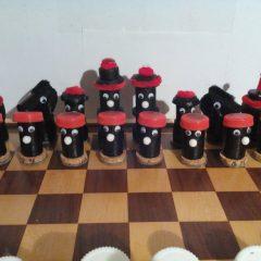 Schach, die Schwarzen