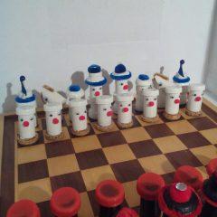 Schach, die Weissen